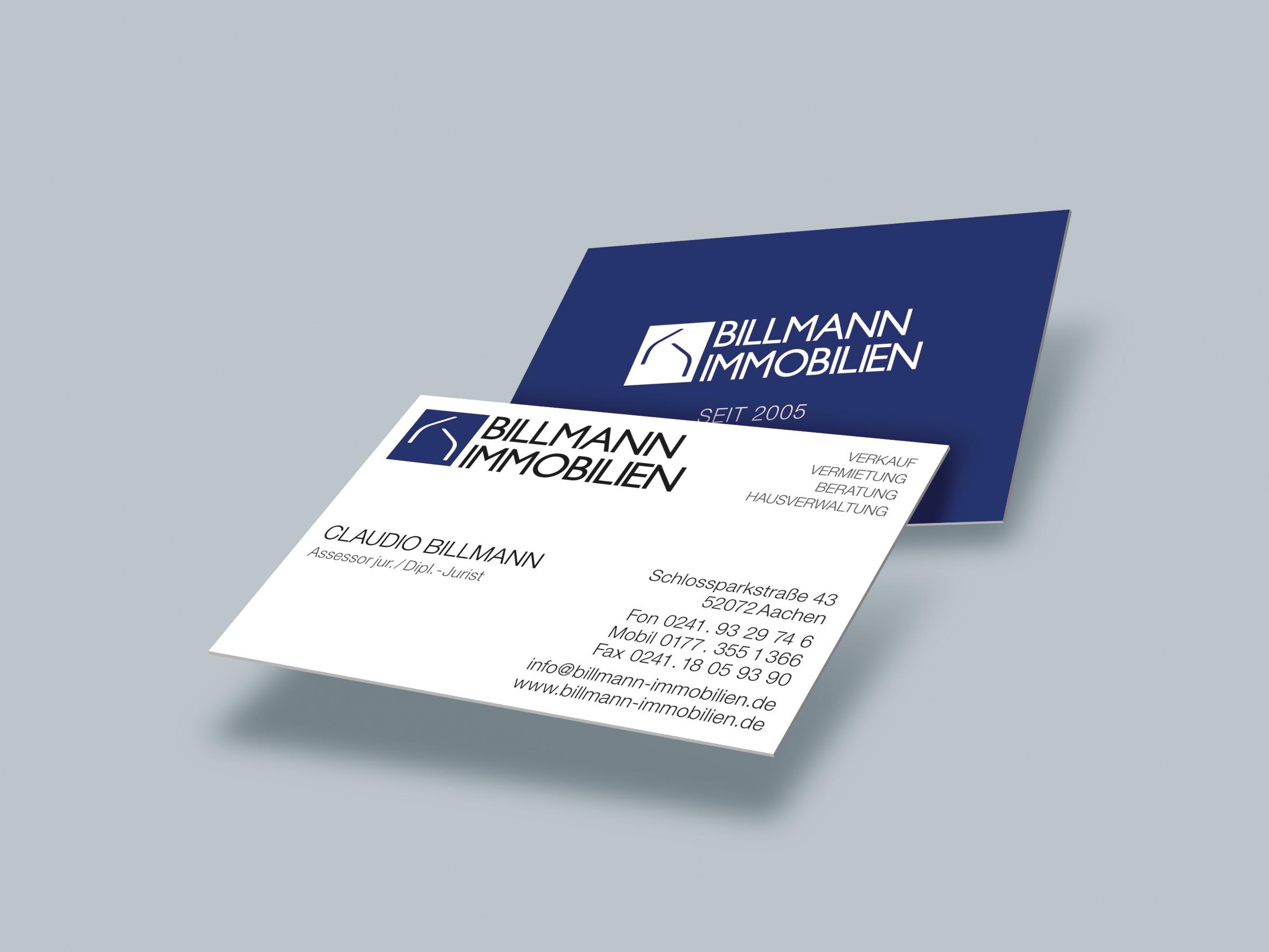 Billmann Visitenkarte 01